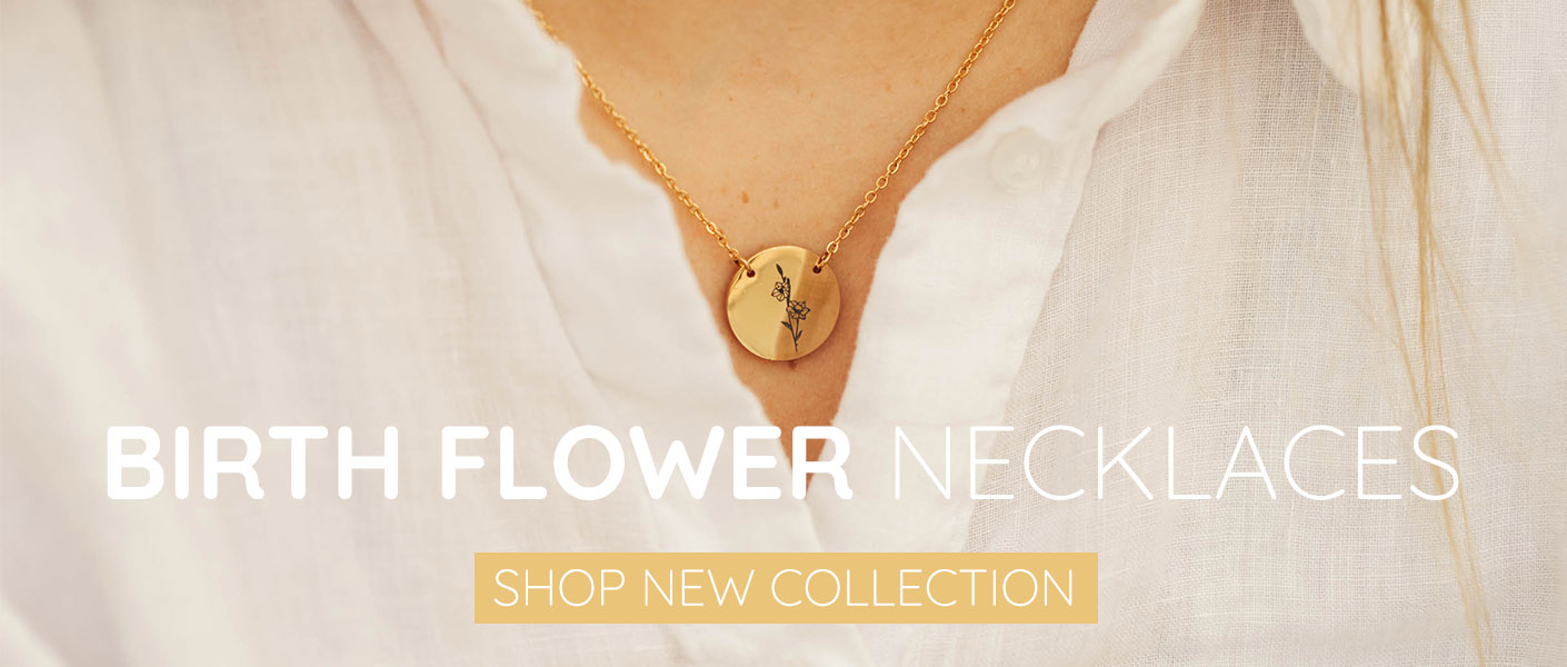 Christian Jewelry New Birth Flower Necklace Collection