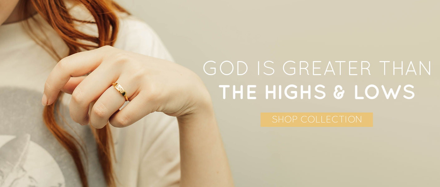 God is Greater Than the Highs and Lows Jewelry