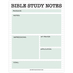 Dots Bible Study Page - Printable bible study page, free bible study page, free bible study notes, free christian printables, christian coloring pages,