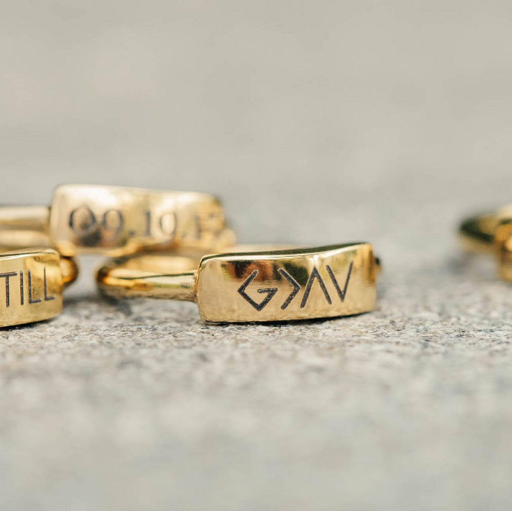 God is Greater Than the Highs and Lows Bar Ring - FP-RNGBR111